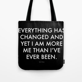 """Everything"" Text Tote Bag"