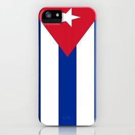 Flag of Cuba iPhone Case