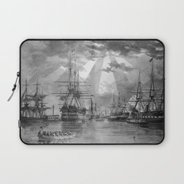 Civil War Ships of the United States Navy Laptop Sleeve