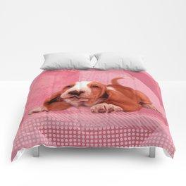 Basset Hound Puppy Comforters
