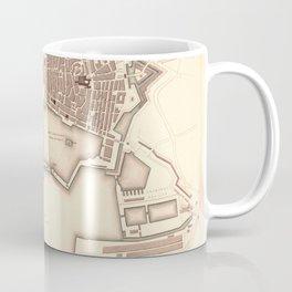 Map Of Toulon 1840 Coffee Mug