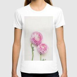 Pink Peonies 2 T-shirt