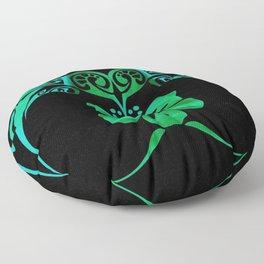 Kiss of a Humming Bird Floor Pillow