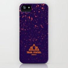 Trail Status / Purple Slim Case iPhone (5, 5s)