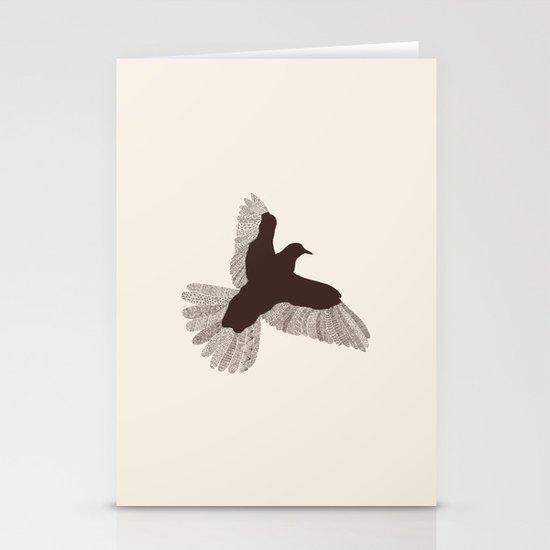 Bird (On Beige) Stationery Cards