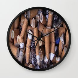 ASHTRAY Wall Clock