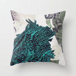 Potential Paisley Throw Pillow