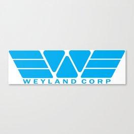 Weyland Corp - Blue Canvas Print