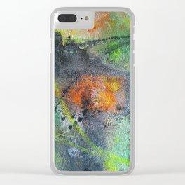 Ground-In Graffiti Clear iPhone Case