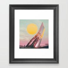 170307 / henge Framed Art Print