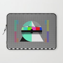 Waiting for the Show to Begin (Test Pattern 1) Laptop Sleeve