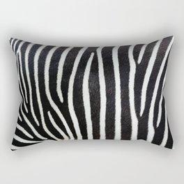 Close-up view of zebra stripes Rectangular Pillow