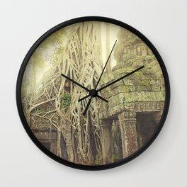 Angkor Temples Wall Clock