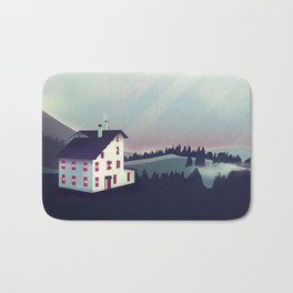 Castle in the Mountains Bath Mat
