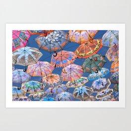 Umbrella Canopy 2 Art Print