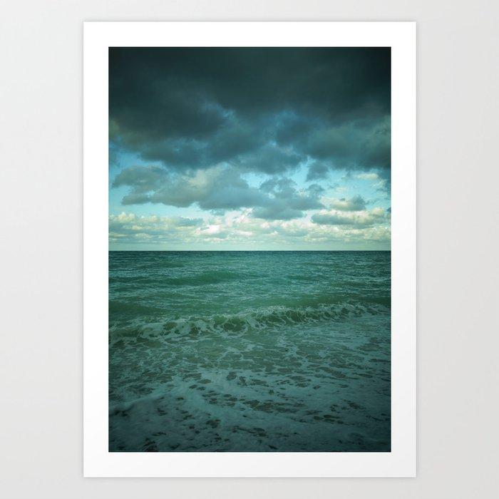 cielo vs mare Art Print