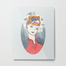 Holly Golightly Metal Print