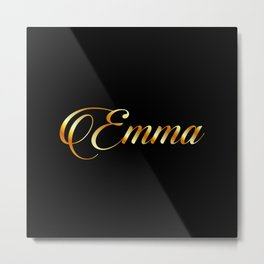 Emma- personalized gifts for girls Metal Print