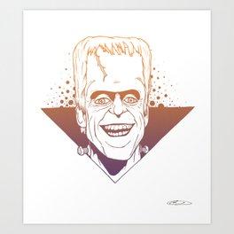 POP MUNSTER COLOR Art Print