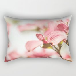 Dogwood Daydreams Rectangular Pillow