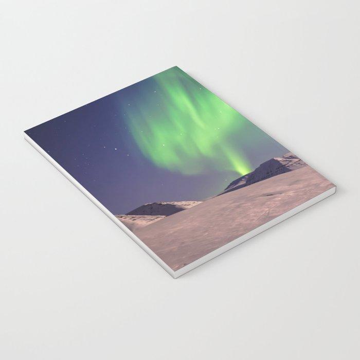 The Northern Lights (Aurora Borealis) Notebook