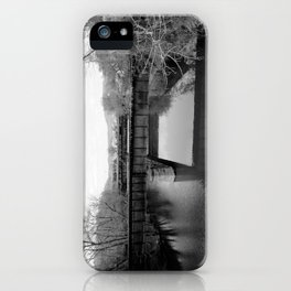 Absent iPhone Case