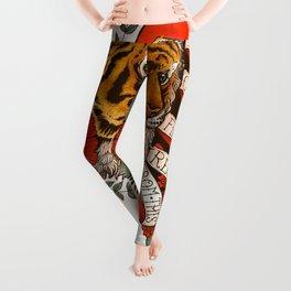 Exotic Tiger Flash Leggings