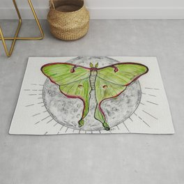 Luna Moth Rug