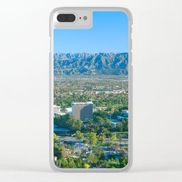 Universal City - San Fernando Valley California Clear iPhone Case