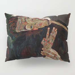 "Egon Schiele ""The Lyricist"" Pillow Sham"