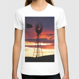 Colorful sunset T-shirt