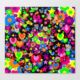 Groovy Love! Canvas Print