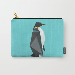 Fractal geometric emperor penguin Carry-All Pouch