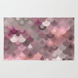 Pink Scales Rug