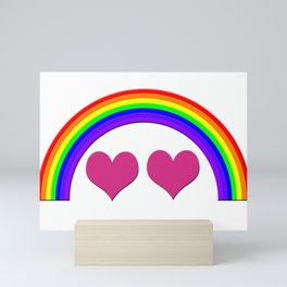 Rainbow Equal Love Mini Art Print