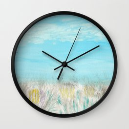 Seagulls by the Seashore Wall Clock