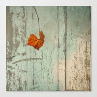thanksgiving Canvas Prints featuring Thanksgiving by V. Sanderson / Chickens in the Trees