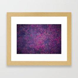 Pink Moss Framed Art Print