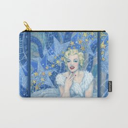 Marilyn, Old Hollywood, celebrity portrait Carry-All Pouch