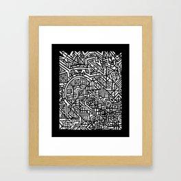 Akashic Message Framed Art Print