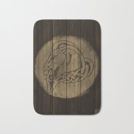 Horse Shield Bath Mat