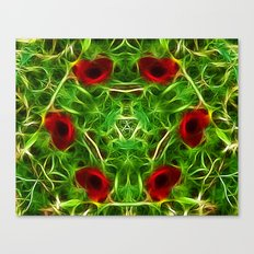 Ring of Poppies Canvas Print