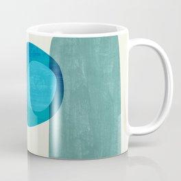 Stacking Pebbles Blue Coffee Mug