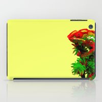 rasta iPad Cases featuring Rasta Chameleon by Gira Patel