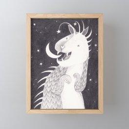 Just a Phase Framed Mini Art Print