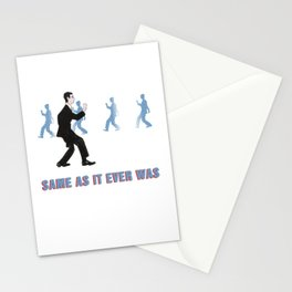 Talking Heads - Same As It Ever Was Stationery Cards