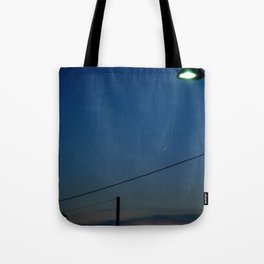 Night Time in Istanbul Tote Bag