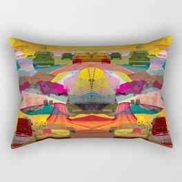 Infinity Road Rectangular Pillow