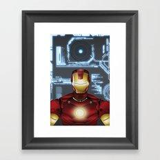 Iron-Man Framed Art Print