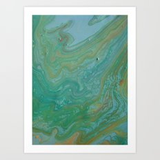 the rivers of the world Art Print